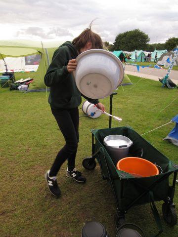 Washng up!