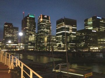 Staying in Docklands